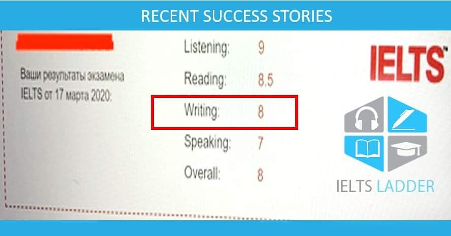BAND 8.0 IN IELTS WRITING